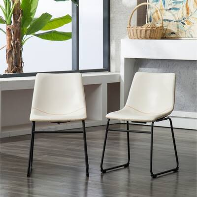 Buy White, Faux Leather Kitchen & Dining Room Chairs Online ...