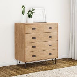 Carson Carrington Akureyri Mid-century 4-drawer Chest
