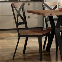 Carbon Loft Prescoft Metal Chair with Wood Seat