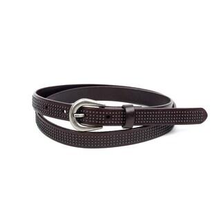 Old Trend Vixen Brown Leather Belt