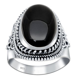 Handmade 925 Sterling Silver Gemstone Bridal Ring with Choise of Gemstone (More options available)