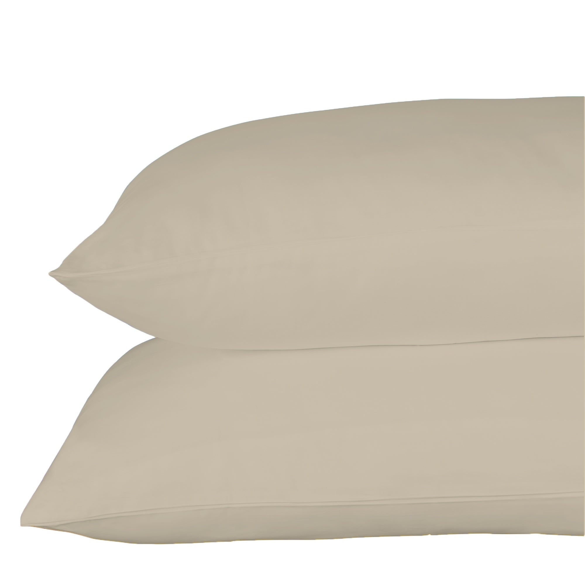 1 New pillow case cover king 20x36 white percale hotel linen premium T250 series