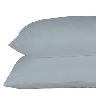Just Linen 400 Thread Count 100% Egyptian Quality Cotton Sateen, Pack Of 4 Solid Queen Pillow Cases