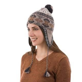 Handmade Alpaca 'Andean Patterns' Hat (Peru)