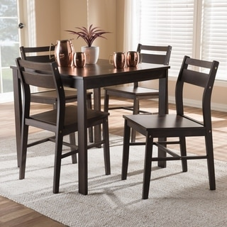 Contemporary 5-Piece Dining Set by Baxton Studio