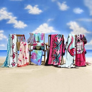Betsey Johnson 2-Piece Beach Towel Set (3 options available)