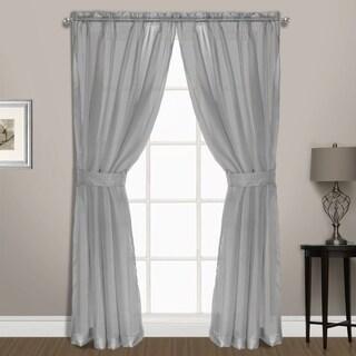 Luxury Collection Summit Sheer Curtain Panel Pair