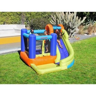 Sportspower My First Jump n Slide Inflatable Bounce House and Slide