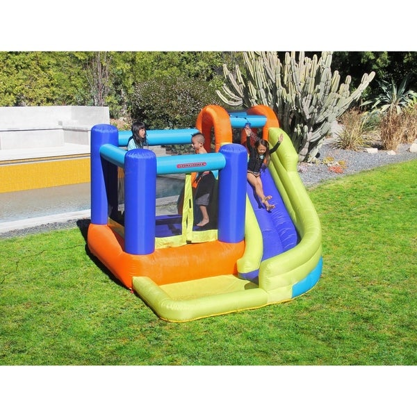 008ff962c28 Shop Sportspower My First Jump n Slide Inflatable Bounce House and ...