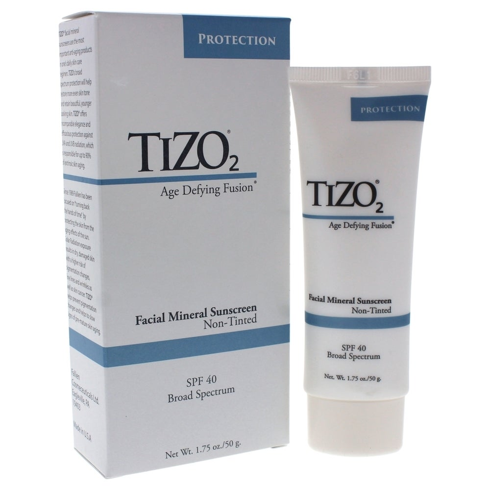 TIZO 2 Facial Mineral Primer/Sunscreen SPF 40 - Water Resistant 1.75 Oz (Body Sunscreen)