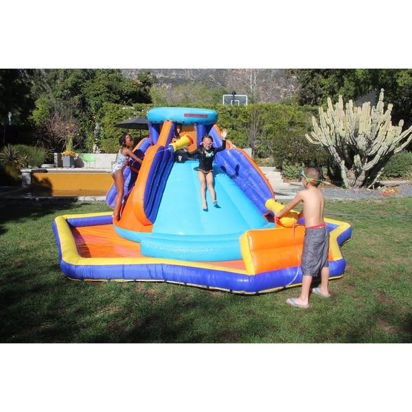 Inflatable Slide Sale: Shop Sportspower Battle Ridge Inflatable Water Slide