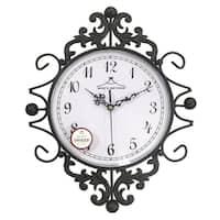Wee's Beyond 2802-AG Metal Wall Clock