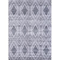 VCNY Home Ikat Area Rug - grey