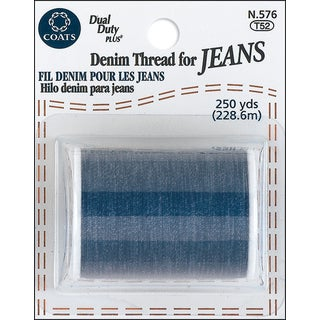 Coats Denim Thread For Jeans 250yd