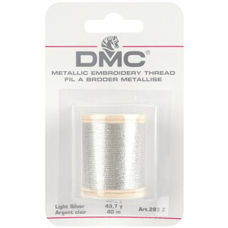 DMC Metallic Embroidery Thread 43.7yd