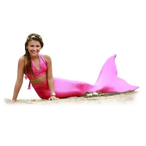 Girls' 3 Piece Mermaid Swimsuit
