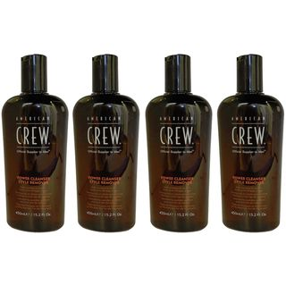 American Crew Power Cleanser Remover 15.2-ounce Shampoo (Pack of 4)