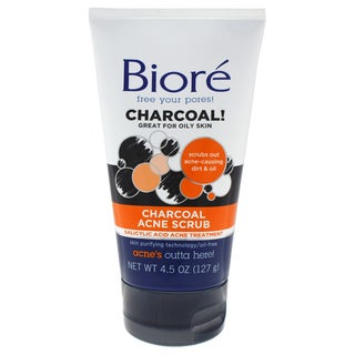 Biore 4.5-ounce Charcoal Acne Scrub