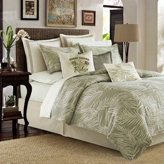 Tommy Bahama Palms Away Full/ Queen Size Duvet Cover Set (As Is Item)