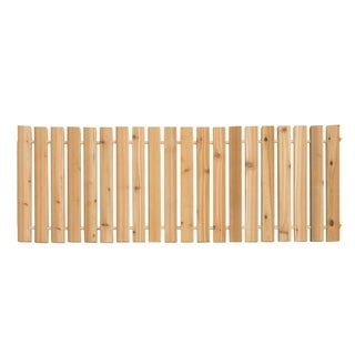 2 Ft. Wide Red Cedar Roll-Up Outdoor Walkway