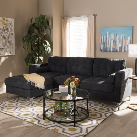 Contemporary Sectional Sofa by Baxton Studio