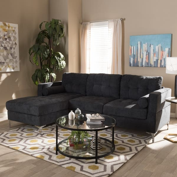 Tremendous Shop Contemporary Sectional Sofa By Baxton Studio Free Uwap Interior Chair Design Uwaporg