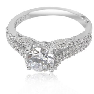 Tacori Engagement Ring Setting in 18KT White Gold - 2634 RD 6.5