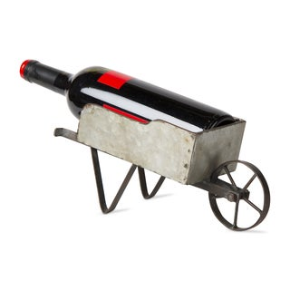 TAG Wheelbarrow Wine Bottle Holder