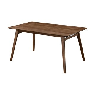 Emerald Home Simplicity Walnut Brown dining table D550-12 - Walnut Brown