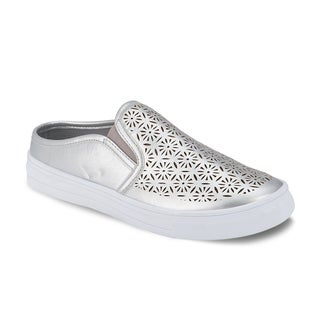 Olivia Miller 'Aventura' Laser Cut Low-Top Sneakers (More options available)