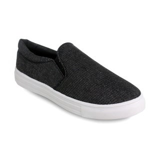 Olivia Miller 'Walton' Denim Slip-On Low-Top Sneakers