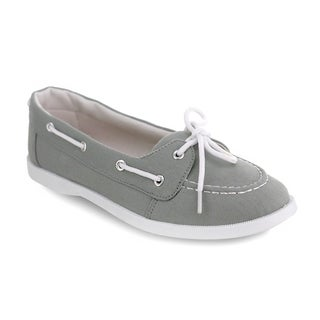 Olivia Miller 'Longboat' Laced Boat Shoes