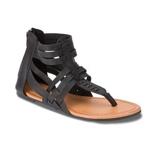 Olivia Miller 'Vero' Multi Strap Gladiator Sandals