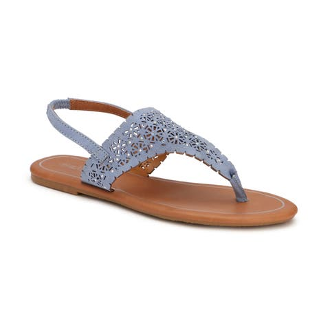 be0c92977 Olivia Miller  Key West  Multi Heat Sealed Rhinestone Cut Out Sandals