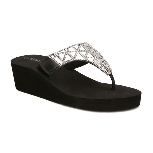 Olivia Miller Pinellas Women's ... Wedge Sandals official site cheap price top quality sale online k4zQagfepq
