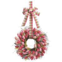 "Transpac 20"" Faux Tulip Wreath"