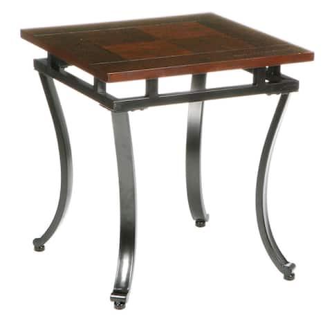 Copper Grove Protea End Table