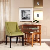 Porch & Den Over-the-Rhine Clifton Medium Oak Finish End Table