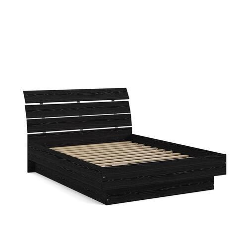 Porch & Den McKellingon Contemporary Wood Grain Platform Bed