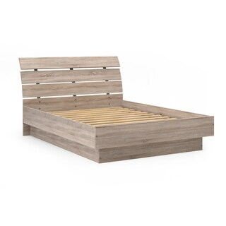 Porch & Den McKellingon Truffle Platform Bed with Slats