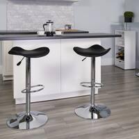 Porch & Den Stonehurst Farrelly Adjustable Height Metal Bar Stool