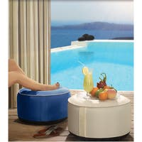 Havenside Home Lippershey Outdoor Inflatable Poufs