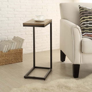 Porch & Den Little Five Points Mansfield Snack C-shape Table (3 options available)
