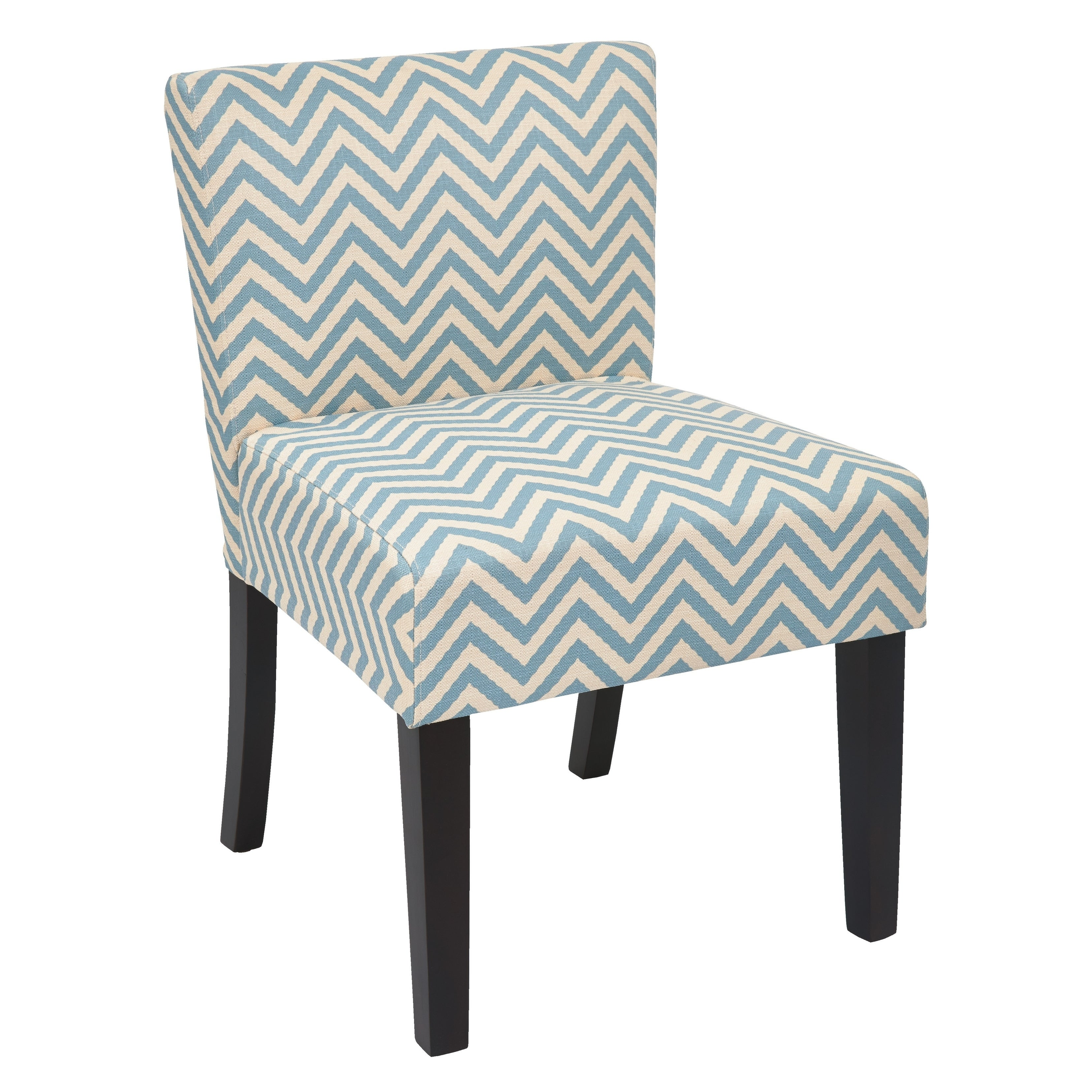 Prime Osp Home Furnishings Mist Blue Chevron Accent Chair Theyellowbook Wood Chair Design Ideas Theyellowbookinfo