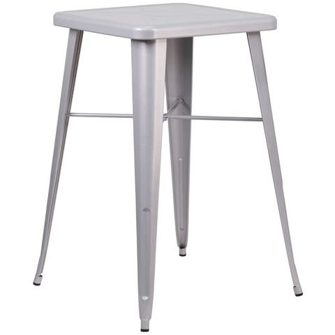 Birmingham Metal Indoor/ Outdoor Bar Height Table by Havenside Home