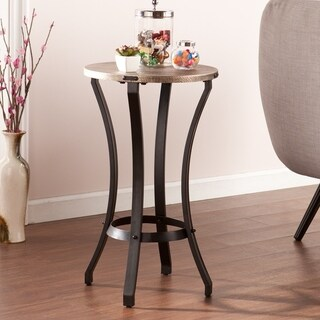Carbon Loft Glen Round Accent Table