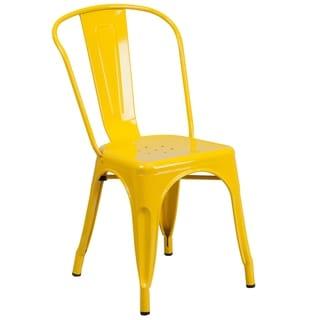 Havenside Home Birmingham Metal Indoor/ Outdoor Stackable Chair