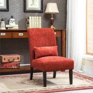 Slipper Chair, Red Living Room Chairs | Shop Online at Overstock