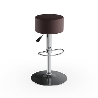Porch & Den Feliciana Vinyl Bar Stool