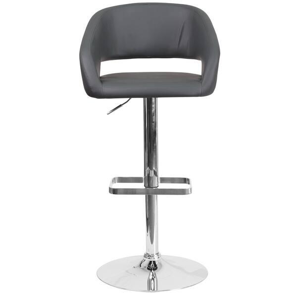 Fabulous Shop Porch Den Firefly Lane Chrome Base Adjustable Height Machost Co Dining Chair Design Ideas Machostcouk